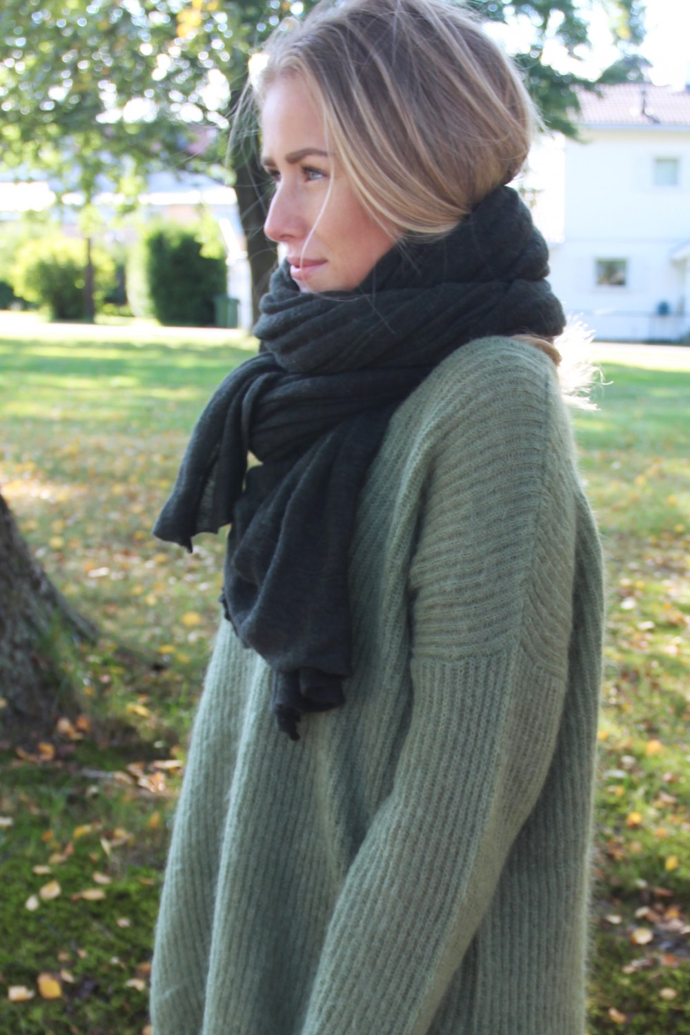 NATURA Cashmere M Luxury Dark Green