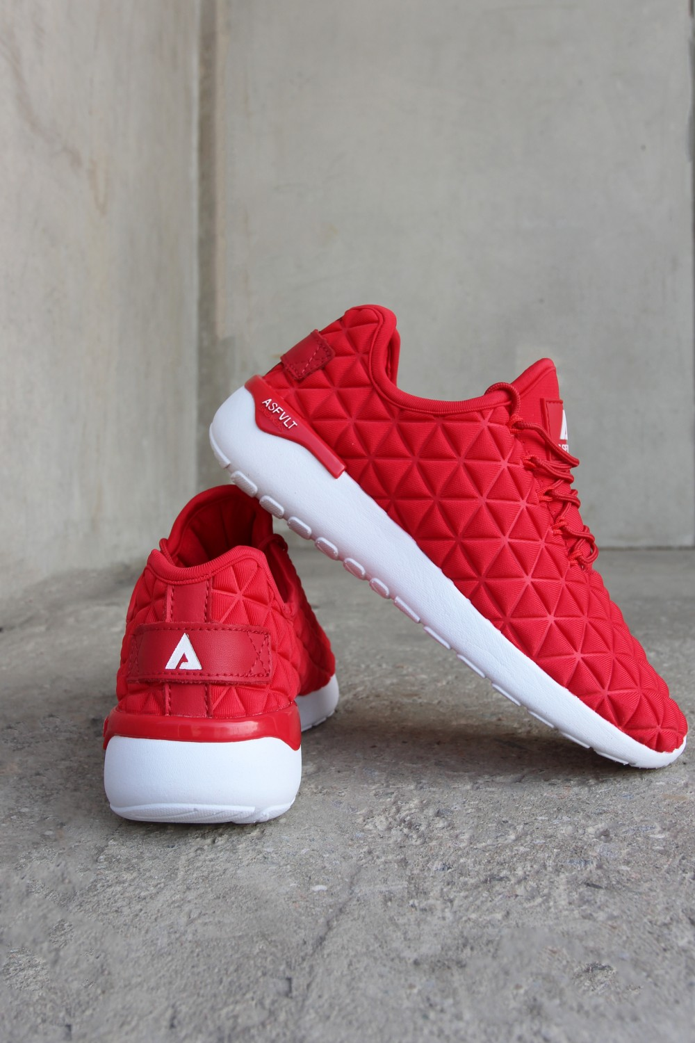 Asfvlt Speed Sock Red